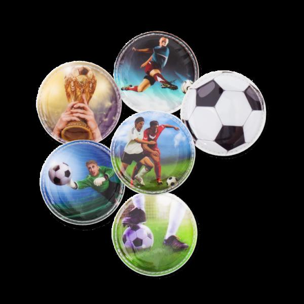 Ergobag Klettie-Set Fußball 6-tlg.