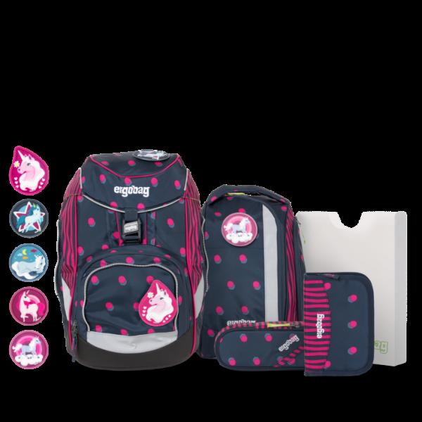 Übersicht Ergobag Pack 6-teiliges Schulrucksack-Set Schubi DuBär