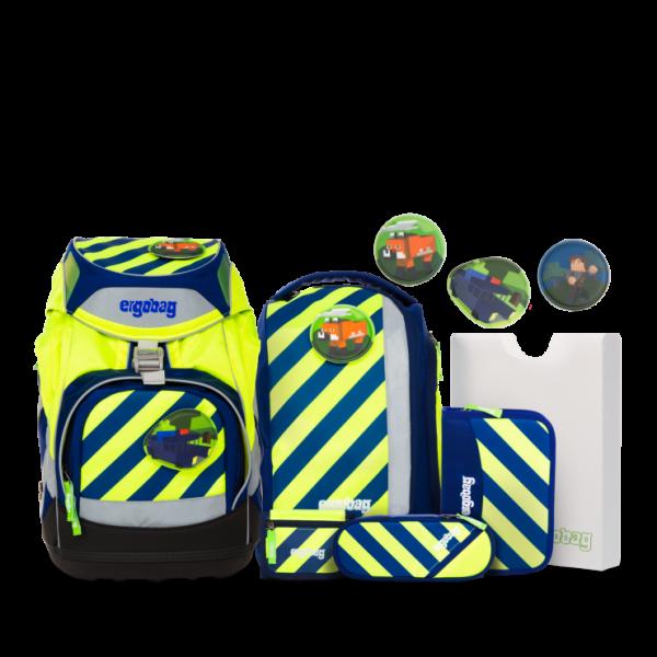 Übersicht Ergobag Pack Schulrucksack-Set IllumiBär Neo Edition 7-teilig