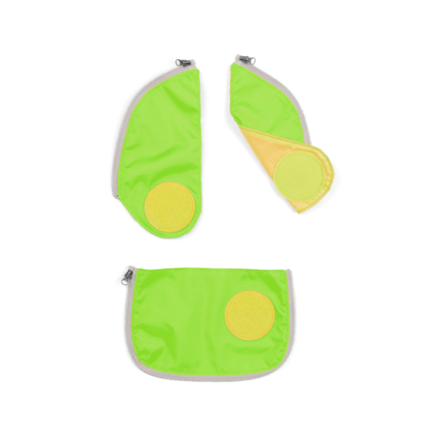 Ergobag Cubo Sicherheitsset Grün 3-tlg.