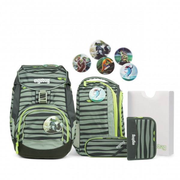 Übersicht Ergobag Pack Schulrucksack-Set Super NinBär 6-teilig