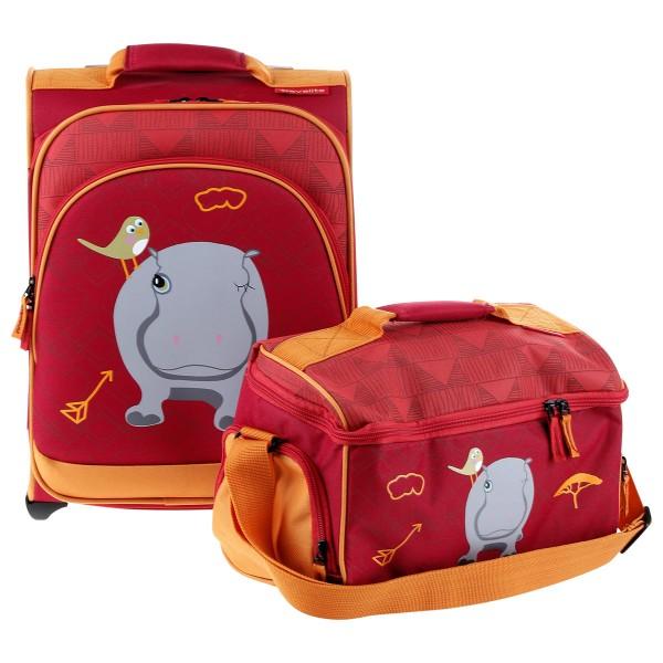 Gesamtansicht Trolley + Tasche Travelite Youngster Set