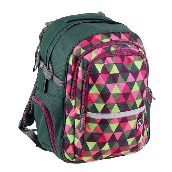 All Out by HAMA Schulrucksack Filby Happy Trangle (138550)