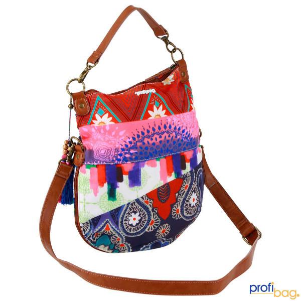 Vorderseite Desigual Umhängetasche Bols Folded Happy Bazar