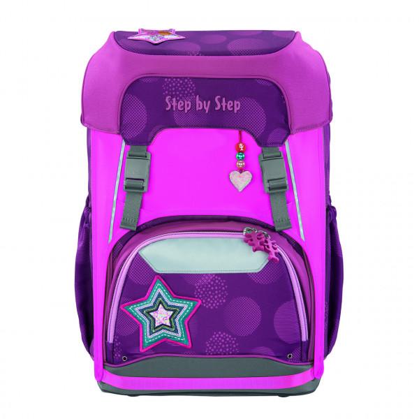 Step by Step Neon Pull-Over für das Schulrucksackmodell GIANT, Pink