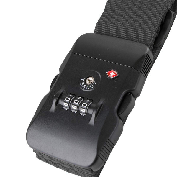 Rada TSA-Koffergurt Schwarz