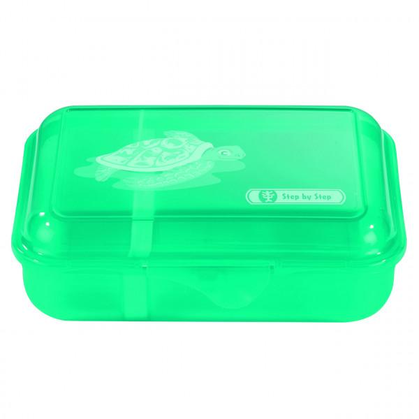 "Step by Step Lunchbox ""Happy Turtle"", Türkis"