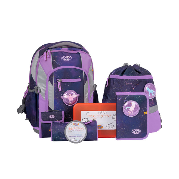 School Mood Schulrucksackset Loop Air Stella