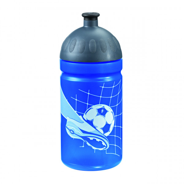 Step by Step Trinkflasche Soccer Team Blau
