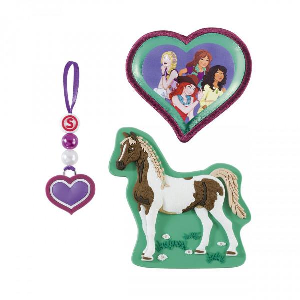 Vorderansicht Step by Step Magnetbilder MAGIC MAGS SCHLEICH Horse Club Girls