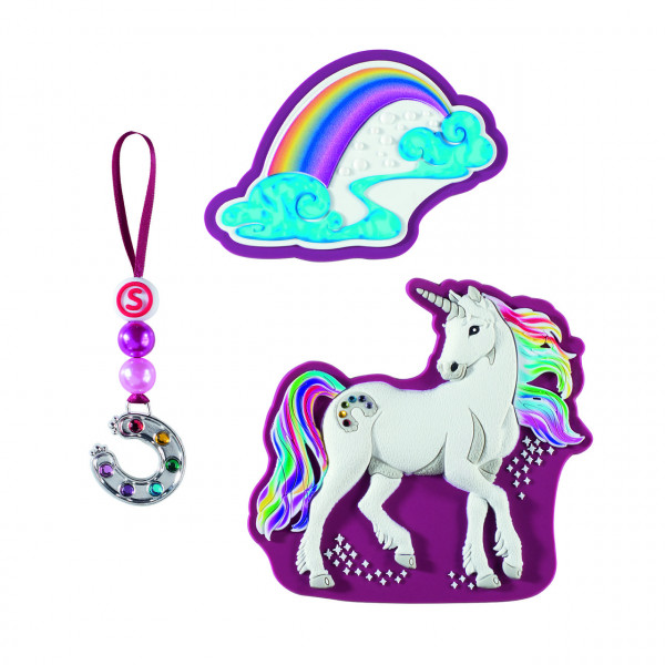 Step by Step Magnetbilder MAGIC MAGS SCHLEICH Set 3-teilig Bayala, Rainbow Unicorn (139217)