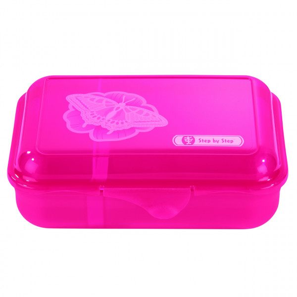 """Step by Step Lunchbox """"Natural Butterfly"""", Pink"""