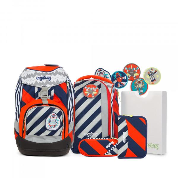 Übersicht Ergobag Pack Schulrucksack-Set Bär2-D2 6-teilig