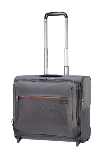 Samsonite Short-Lite Rolling Tote Laptop Briefcase platin grey